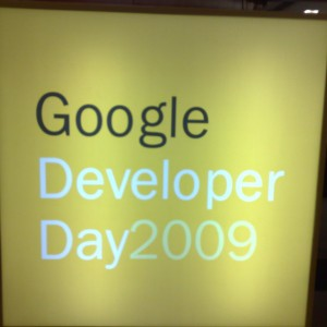 Google Developer Day 2009
