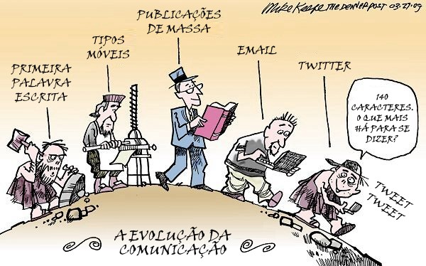A Evoluo da Comunicao