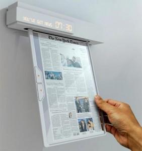 Jornal sem papel