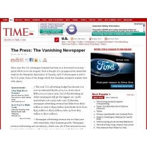 Imprensa: O Jornal Desaparecendo (desde 1941)