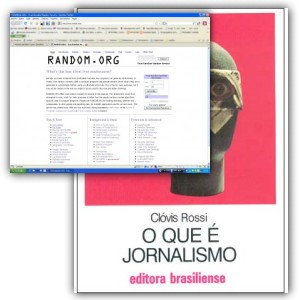 Veja quem ganhou o livro &#8220;O que  Jornalismo&#8221;!