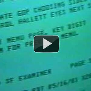 O futuro do Jornalismo Online em 1981