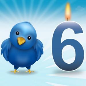 Seis anos de Twitter: Fatos, Números e Curiosidades